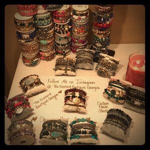Stack Bracelets!!!!! Erimish and Freebird Stacks